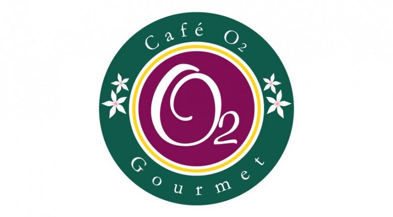 Logotipo Café o2