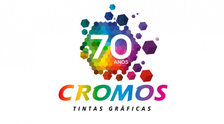 Logotipo Cromos 70 anos