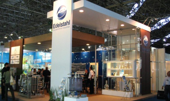 Stand Edelstahl - Fispal 2008